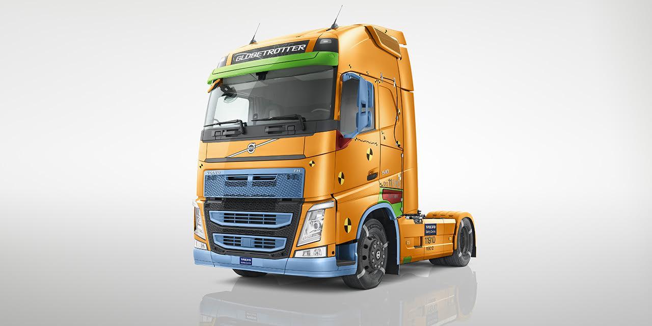 تقرير السلامة من شركة فولفو للشاحنات 2017